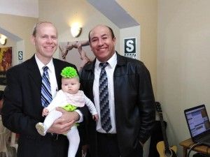With Missionary Ivan Chacon from Santiago, Chile