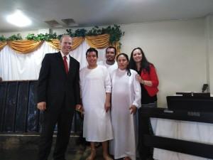 Easter Baptism Service