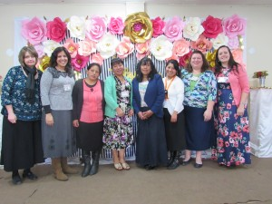 What a blessing to work with these pastor's wives and missionaries!